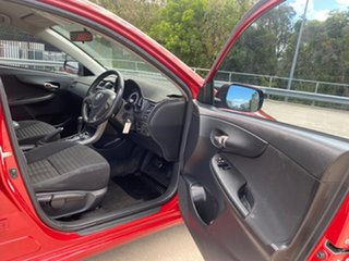 2008 Toyota Corolla ZRE152R Ascent Red 4 Speed Automatic Sedan
