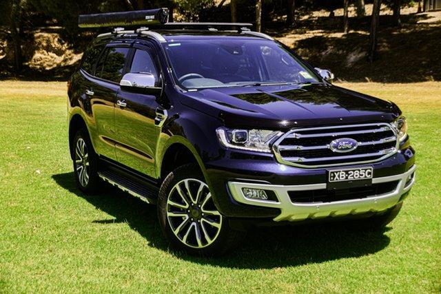 Demo Ford Everest St Marys, EVEREST 2020.75 SUV TITANIUM 2.0L 10A