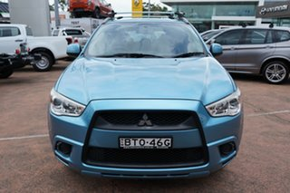 2010 Mitsubishi ASX XA (2WD) Blue 5 Speed Manual Wagon