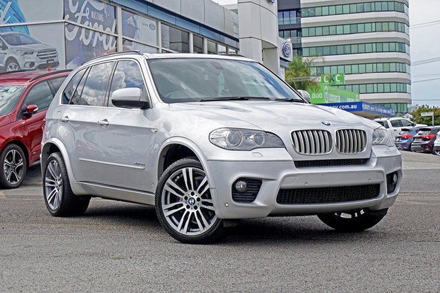 Used BMW X5 E70 MY1112 xDrive40d Steptronic Sport Springwood, 2013 BMW X5 E70 MY1112 xDrive40d Steptronic Sport Silver 8 Speed Sports Automatic Wagon