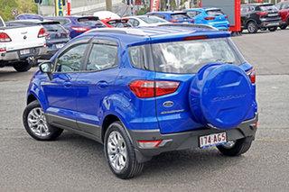 2014 Ford Ecosport BK Titanium Blue 5 Speed Manual Wagon.