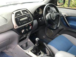 2002 Toyota RAV4 ACA20R Cruiser (4x4) Blue 5 Speed Manual 4x4 Wagon.