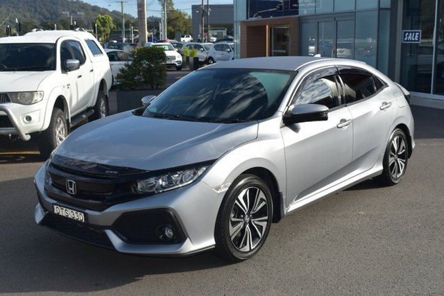 Used Honda Civic 10th Gen MY17 VTi-L Gosford, 2017 Honda Civic 10th Gen MY17 VTi-L Silver 1 Speed Constant Variable Hatchback