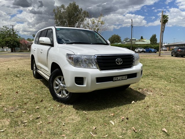 Used Toyota Landcruiser VDJ200R MY13 GXL Moree, 2014 Toyota Landcruiser VDJ200R MY13 GXL White 6 Speed Sports Automatic Wagon