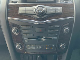 2014 Nissan Patrol Y62 ST-L (4x4) Black 7 Speed Automatic Wagon