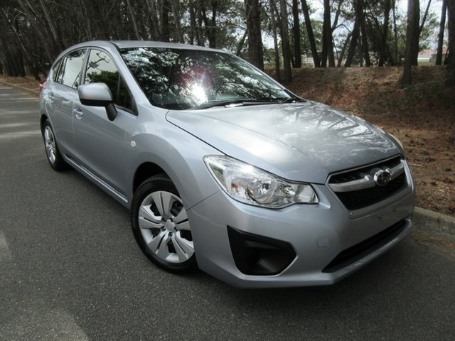 Used Subaru Impreza G4 MY12 2.0i Lineartronic AWD Reynella, 2012 Subaru Impreza G4 MY12 2.0i Lineartronic AWD Silver 6 Speed Constant Variable Hatchback