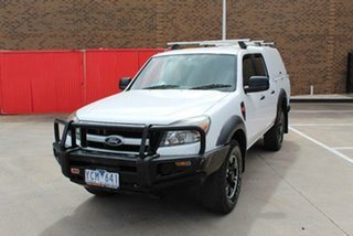 2010 Ford Ranger PK XL Hi-Rider (4x2) White 5 Speed Automatic Dual Cab Pick-up.