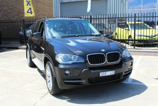 2009 BMW X5 E70 MY09 xDrive 30D Black 6 Speed Auto Steptronic Wagon.