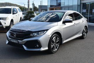 2017 Honda Civic 10th Gen MY17 VTi-L Silver 1 Speed Constant Variable Hatchback