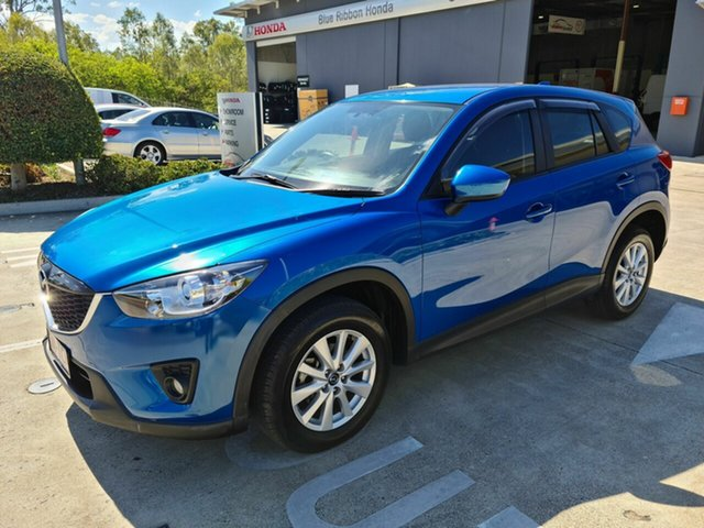 Used Mazda CX-5 KE1031 MY13 Maxx SKYACTIV-Drive AWD Sport Yamanto, 2013 Mazda CX-5 KE1031 MY13 Maxx SKYACTIV-Drive AWD Sport Blue 6 Speed Sports Automatic Wagon