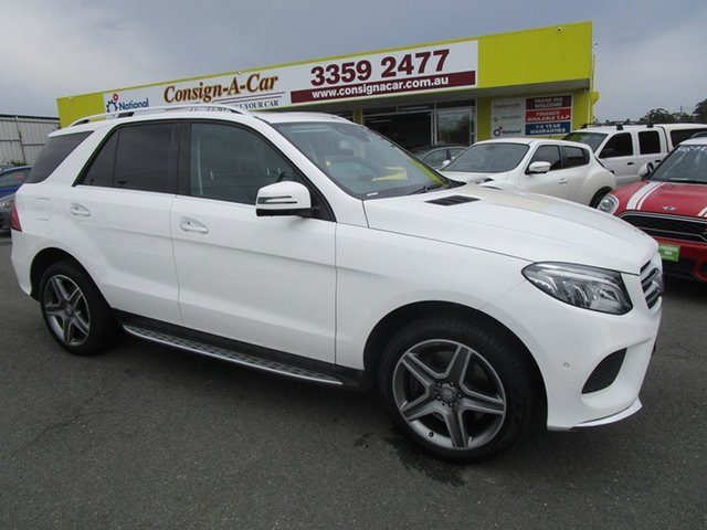 Used Mercedes-Benz GLE-Class W166 GLE400 7G-Tronic + 4MATIC Kedron, 2016 Mercedes-Benz GLE-Class W166 GLE400 7G-Tronic + 4MATIC White 7 Speed Sports Automatic Wagon