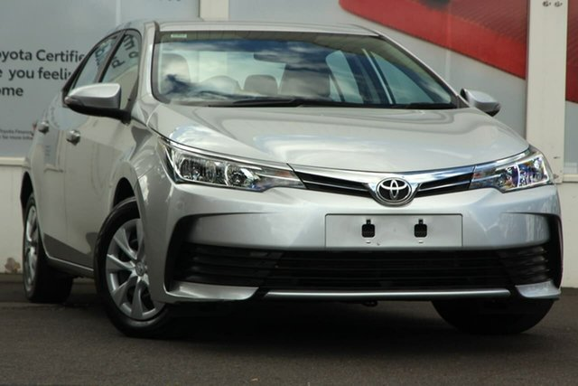 Pre-Owned Toyota Corolla ZRE172R Ascent S-CVT Ferntree Gully, 2018 Toyota Corolla ZRE172R Ascent S-CVT Silver 7 Speed Constant Variable Sedan