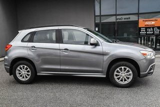 2011 Mitsubishi ASX XA MY11 2WD Grey 6 Speed Constant Variable Wagon.