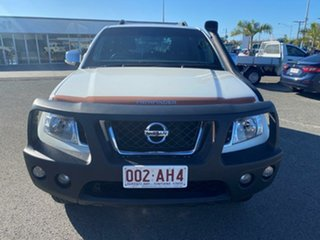 2012 Nissan Pathfinder R51 MY10 ST-L White 6 Speed Manual Wagon