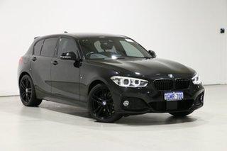 2018 BMW 118d F20 LCI MY17 M Sport Black 8 Speed Automatic Hatchback.