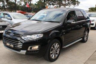 2015 Ford Territory SZ MK2 Titanium (4x4) Black 6 Speed Automatic Wagon.