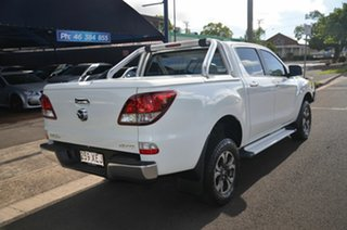 2013 Mazda BT-50 MY13 XTR (4x4) White 6 Speed Automatic Dual Cab Utility.