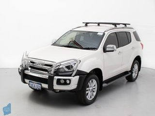 2018 Isuzu MU-X UC MY17 LS-T (4x4) White 6 Speed Auto Sequential Wagon