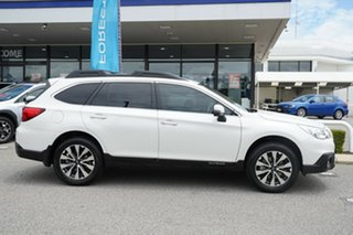 2017 Subaru Outback B6A MY17 2.5i CVT AWD Crystal White 6 Speed Constant Variable Wagon