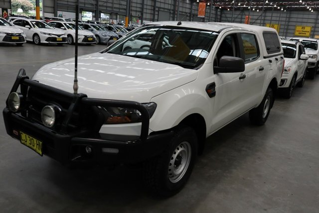 Used Ford Ranger PX MkII MY17 XL 3.2 Plus (4x4) Castle Hill, 2016 Ford Ranger PX MkII MY17 XL 3.2 Plus (4x4) White 6 Speed Automatic Cab Chassis