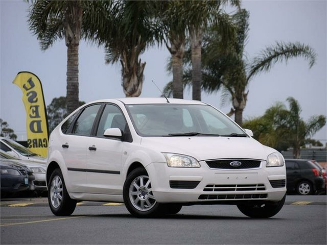 Used Ford Focus LS LX Cheltenham, 2006 Ford Focus LS LX White 5 Speed Manual Hatchback
