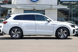 2020 Volkswagen Touareg MY20 190TDI Premium Pure White 8 Speed Automatic Wagon.