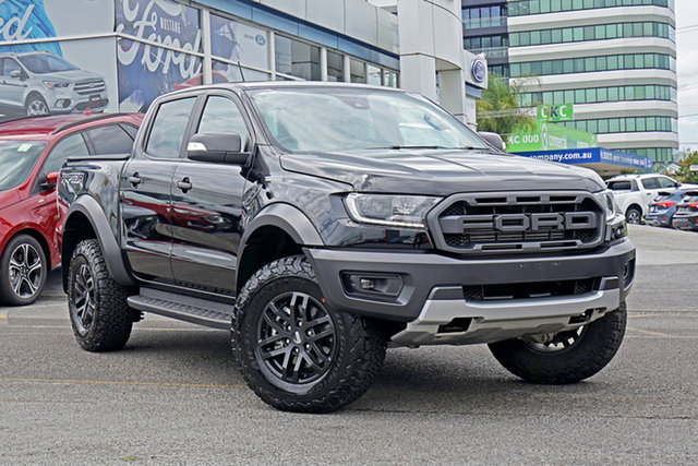 Used Ford Ranger PX MkIII 2019.00MY Raptor Springwood, 2019 Ford Ranger PX MkIII 2019.00MY Raptor Black 10 Speed Sports Automatic Double Cab Pick Up