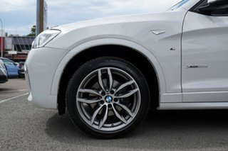 2016 BMW X3 F25 MY17 Update xDrive20d Alpine White 8 Speed Automatic Wagon.