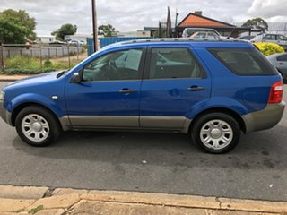 2007 Ford Territory SY TX Blue 4 Speed Sports Automatic Wagon