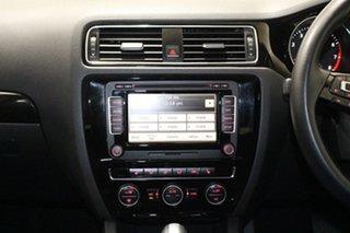 2015 Volkswagen Jetta 1KM MY14 118 TSI Highline White 7 Speed Auto Direct Shift Sedan