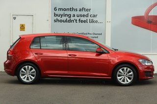 2013 Volkswagen Golf VII MY14 90TSI DSG Comfortline Red 7 Speed Sports Automatic Dual Clutch