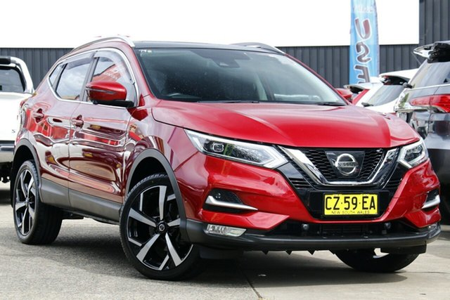 Used Nissan Qashqai J11 Series 2 N-TEC X-tronic Homebush, 2018 Nissan Qashqai J11 Series 2 N-TEC X-tronic Burgundy 1 Speed Constant Variable Wagon