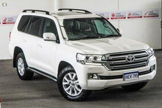 2017 Toyota Landcruiser VDJ200R MY16 VX (4x4) Crystal Pearl 6 Speed Automatic Wagon.