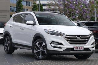 2017 Hyundai Tucson TLe MY17 Highlander AWD White 6 Speed Sports Automatic Wagon.