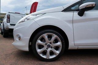 2010 Ford Fiesta WS Zetec White 5 Speed Manual Hatchback.