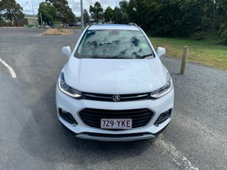 2018 Holden Trax TJ MY19 LTZ White 6 Speed Automatic Wagon.