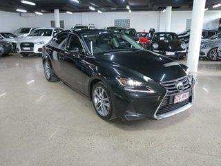 2017 Lexus IS ASE30R IS200t Luxury Black 8 Speed Sports Automatic Sedan.
