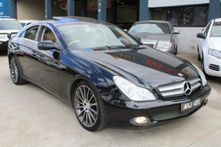 2009 Mercedes-Benz CLS350 219 08 Upgrade Black 7 Speed Automatic G-Tronic Coupe.