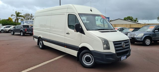 Used Volkswagen Crafter 2EF2 MY09 50 High Roof LWB East Bunbury, 2009 Volkswagen Crafter 2EF2 MY09 50 High Roof LWB White 6 Speed Sports Automatic Van