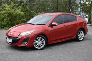 2009 Mazda 3 BL10L1 SP25 Red 6 Speed Manual Sedan.