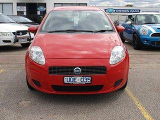 2007 Fiat Punto Dynamic DuaLogic Red 5 Speed Seq Manual Auto-Clutch Hatchback