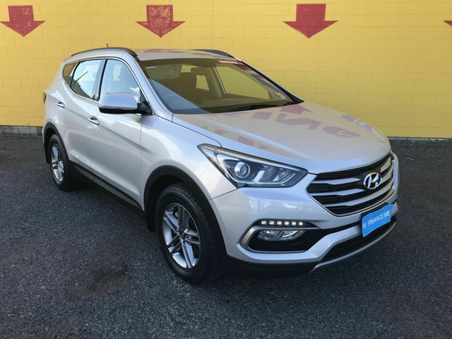 Used Hyundai Santa Fe DM3 MY16 Active Winnellie, 2016 Hyundai Santa Fe DM3 MY16 Active Silver 6 Speed Sports Automatic Wagon