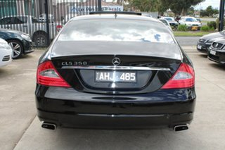 2009 Mercedes-Benz CLS350 219 08 Upgrade Black 7 Speed Automatic G-Tronic Coupe