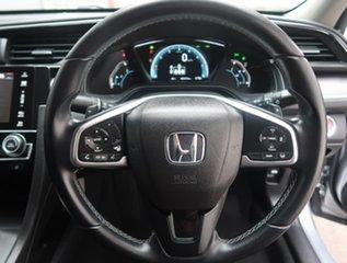 2017 Honda Civic 10th Gen MY17 VTi-LX Silver 1 Speed Constant Variable Sedan