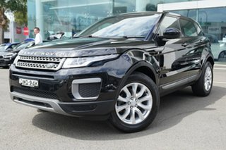 2017 Land Rover Evoque LV MY17 TD4 150 SE Santorini Black 9 Speed Automatic Wagon.