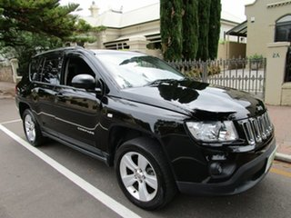 2012 Jeep Compass MK MY12 Sport (4x2) Black Continuous Variable Wagon