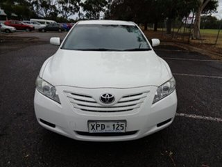 2007 Toyota Camry ACV40R Altise White 5 Speed Automatic Sedan.