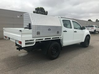 2017 Isuzu D-MAX MY17 SX Crew Cab White 6 Speed Sports Automatic Cab Chassis.