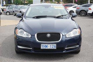 2011 Jaguar XF X250 MY11 S Luxury Indigo Blue 6 Speed Sports Automatic Sedan.