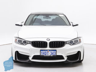 2015 BMW M3 F80 MY15 White 7 Speed Auto Dual Clutch Sedan.